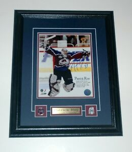 Patrick Roy Colorado Avalanche Auto Framed