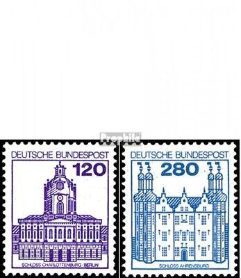 BRD (BR.Duitsland) 1139A I-1143A I First Day Cover 1982 Kasteel.u.Sloten