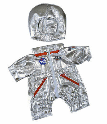 "Astronaut teddy bear costume outfit clothes to fit 15"" build a bear plush teddy"
