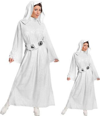 Frauen Damen Star Wars Prinzessin Leia Fancy Dress Cosplay Kostüm Kleid - Star Wars Fancy Dress Kostüm
