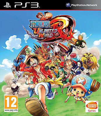 One Piece Unlimited World Red Straw Hat Edition PS3 * NEW SEALED PAL * segunda mano  Embacar hacia Argentina