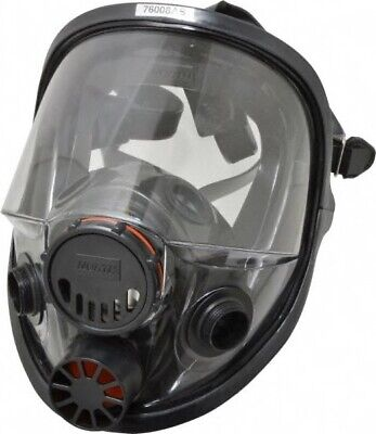 North 7600 Series Full Face Respirator Facepiece Size Ml 3m Cart. Included
