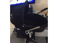 Quinny buzz pram with toddler seat