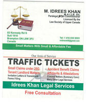 IDREES KHAN LEGAL SERVICES