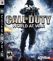 5 games for 40$ - PS3 / PC -   Call of duty - World at war