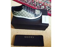 Brand new with authenticity men's Gucci trainers