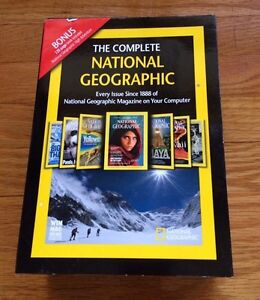National Geographic encyclopedia for PC
