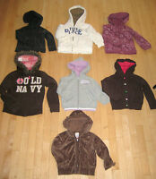 Selection Girls Hoodies Size 12-18M to 4