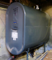 Rust-free oil tank, dated 2004