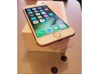 iPhone 7 32gb rose gold SWAP