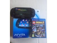 Sony Ps Vita Boxed Wifi + 3G With 1 Game Great Condition