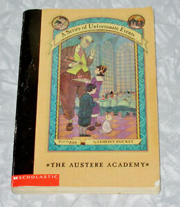 A Series of Unfortunate Events Book the Fifth by Lemony Snicket