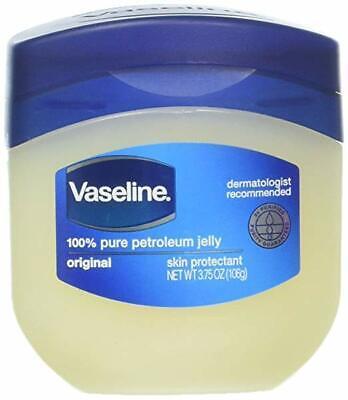 Vaseline 100% Pure Petroleum Jelly Skin Protectant 3.75 oz 100% Pure Petroleum Jelly