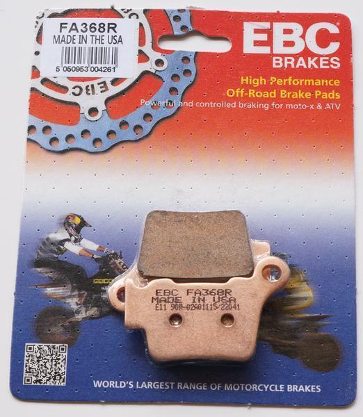 HUSQVARNA TE 250 / R  SINTERED REAR EBC BRAKE PADS FA368R FITS 2014 TO 2017