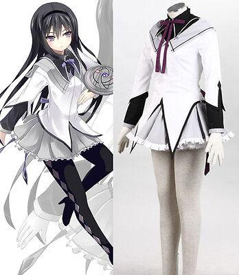 Akemi Homura Puella Magi Madoka Magica Magical Girl of Magus cosplay (Homura Akemi Cosplay Kostüm)