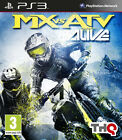 Sony PlayStation 3 MX vs. ATV Alive Video Games