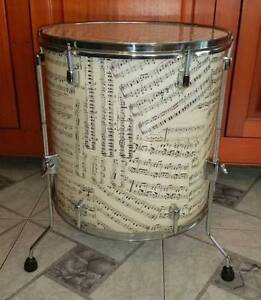 <><>FLOOR TOM DRUM COFFEE TABLE<><> Sans Souci Rockdale Area Preview