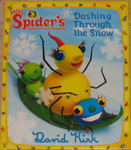 Miss Spider's Book - Dashing Through the Snow Hard Cover
