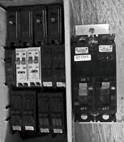 PRISES-DISJONCTEURS-PLAQUES...BREAKERS-SWITCH PLATES etc