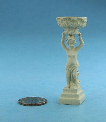 Купить The Dollshouse Emporium - 1:12 Scale Dollhouse Miniature Garden Statue Holding a Birdbath Basin #S2951