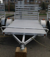 72×12 R-A SPRINT OPEN CARGO TRAILER
