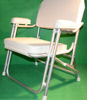 Marine Folding Chairs, Deck Chairs for Boats, Pontoons and Docks