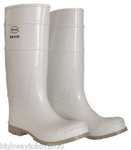 Boss 2pp192406 size 6 16 white pvc over the sock for White fishing boots