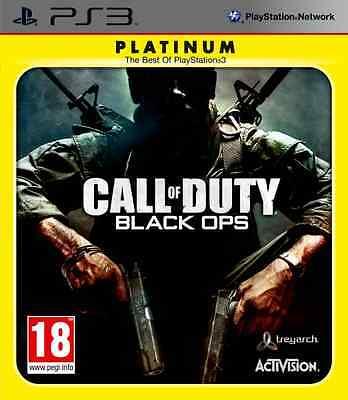 CALL OF DUTY BLACK OPS NUEVO PRECINTADO PAL ESPAÑA PS3