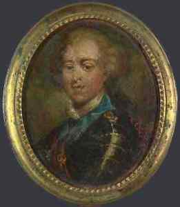 French Prince Charles Edward Stuart (The Young Pretender) A4 Print