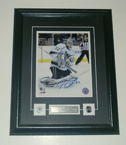 Jonathon Quick Los Angeles KIngs Auto Framed