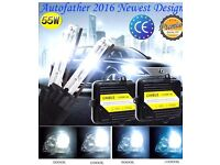 H7 Xenon HID conversion kits CANBUS compatible bright 55w slim ballast Full kit new boxed