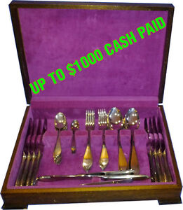 Sterling Silver Flatware - Will pay up to $1000 cash for the set