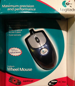 LOGITECH USB Optical Wheel Computer Mouse