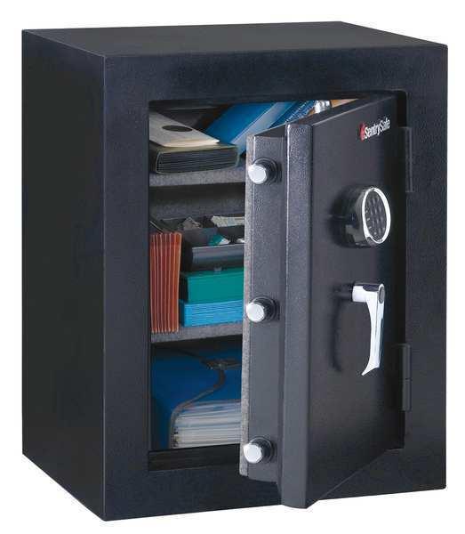 SENTRY SAFE EF3428E Executive Fire Safe,3.4 cu ft,Black