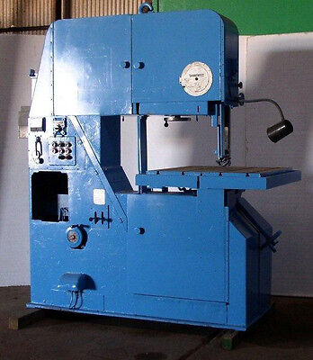 36 Tannewitz Model 3600mhs Vertical Band Saw Traveling Table
