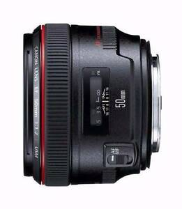 Canon EF 50mm f/1.2 L USM Lens for Canon Digital SLR Cameras Pyrmont Inner Sydney Preview