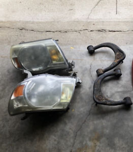 Toyota Tacoma headlights and upper control arms