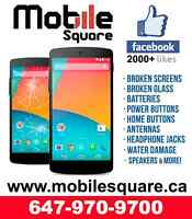 ★SALE★LG NEXUS 4, NEXUS 5, G2, G3 CRACKED SCREEN REPAIR-ON SPOT