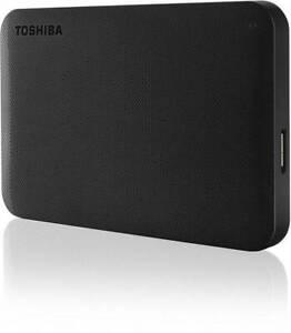 Toshiba 2TB Canvio Basics Portable Hard Drive Black