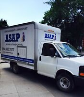 ASAP Movers - fast, friendly, reliable! Great rates!