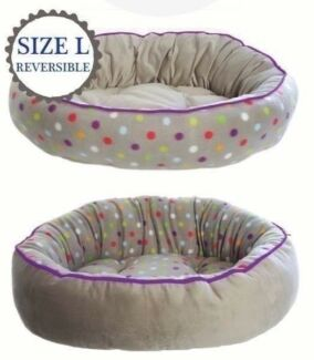 REVERSIBLE DOG BED, SIZE L *BRAND NEW*