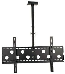 """Support plafond universel inclinable TV LED LCD PLASMA 32"""" à 60"""""""