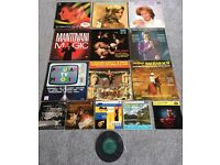 Collection of vinyl, LP's records