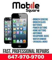 ★ SPECIAL★ iPHONE 6, 5S, 5C, 5, 4/4S SCREEN REPAIR - FIX ON SPOT