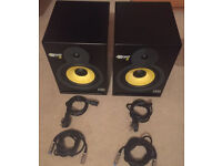 KRK RP8 g1 Rokit Powered 8 Reference Studio Monitor speakers
