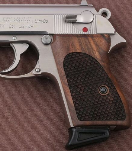 Walther PPK German made Walnut grip