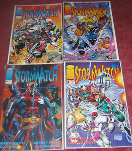 Stormwatch #0, 1, 2 and 3 - Image Comics - Great condition