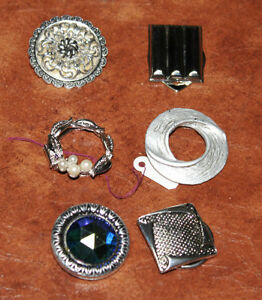 Large collection of Vintage scarf clips Kingston Kingston Area image 4