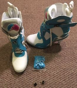 Air Jordan 8  high heels limited edition size 7.5
