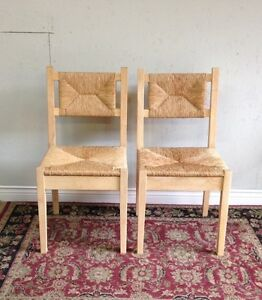 "Ikea ""TINIUS"" Wicker Seat Chair *Delivery Available*"